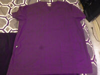 Scrub top from marks works warehouse, size med