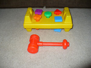Fisher Price Pounding Bench