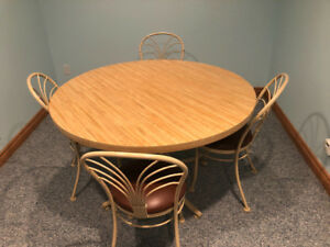 Hauser Table and Four Chairs