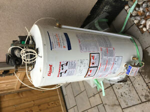 2 Year Old, 189 L Gas Hot Water Tank for sale