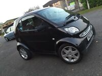 Smart car for two black 2003