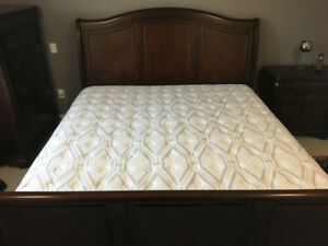 5 pc King size Bedroom suite (mint condition)