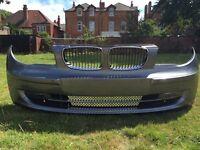 BMW e87 front bumper complete