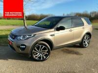 2017 17 LAND ROVER DISCOVERY SPORT 2.0 TD4 HSE BLACK PACK 180 BHP AUTO 7 SEATER