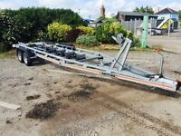 SBS twin axle trailer