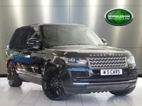 "2017 LAND ROVER RANGE ROVER TDV6 VOGUE WITH PANORAMIC SUN ROOF / 22"" GLOSS BLACK"