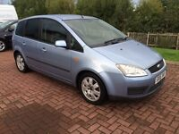Ford Focus C-Max Style Tdci E4 Low miles Diesel 99000 MOT 26/03/17, Astra focus golf, vectra, corsa