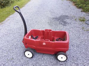 Just like new wagon and has not really been used