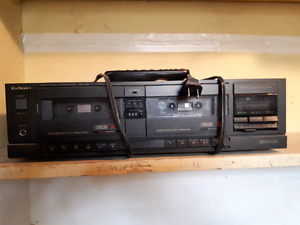 Dual Cassette tape player