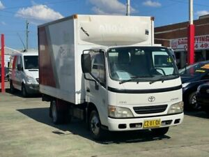2004 Toyota Dyna LY230R 150 White 5 Speed Manual Cab Chassis Clyde Parramatta Area Preview