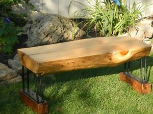 Log Benches - Pine -  $299.00 each Cambridge Kitchener Area image 4