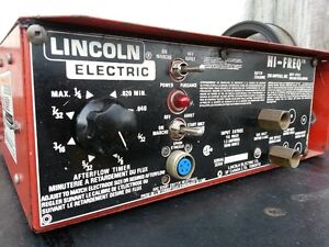 Lincoln Electric High Frequency ***Aluminum Welding***
