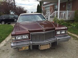 75 Cadillac with musical horn