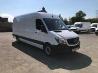 Mercedes-Benz Sprinter 314 LWB 3.5T High Roof Van EURO 6 DIESEL MANUAL (2016)