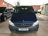 2012 MERCEDES BENZ VITO 113 CDI TRAVELINER 8 SEATER AIR CON 113CDI 130BHP NO VAT