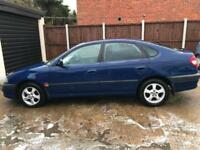 TOYOTA AVENSIS VVTI 12 MONTHS MOT AIR CON TOW BAR CHEAP CAR 5 DOOR IN BLUE