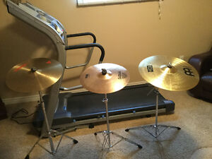 Cymbals and stands for sale