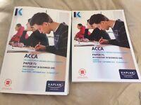 ACCA Paper F1 books