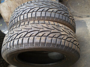 2 P215/65/R17 Winter Claw EXT  winter tires sale