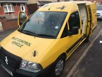 2005 CITROEN DISPATCH 2.0 HDI ENTERPRISE FACTORY FITTED DOG VAN WASH FACILITY