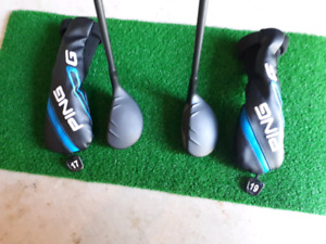 Ping G 2 and 3 Iron Hybrids. 17 and 19 Degree Regular Flex. Mint