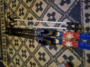 Kids Crose Country Ski set