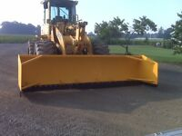 SNOW PUSHER, BOX PLOW, SNOW PLOW