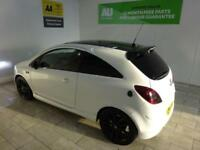 WHITE VAUXHALL CORSA 1.2 LIMITED EDITION ***from £103 per month***