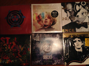 Vinyls Zedd St lucia Lou reed Beck Chvrches Justin timberlake