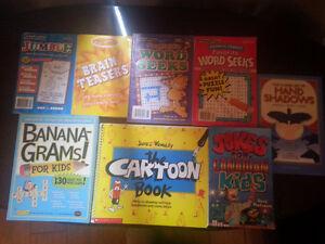 Various fun books