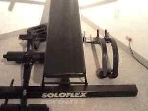 Solo flex muscle machine
