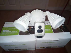 Motion-Activated Floodlight Security Camera