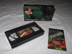 Donkey Kong Country Exposed VHS