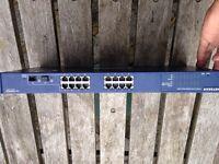 Netgear ProSafe 16 Port Gigabit Smart Switch GS716T v1