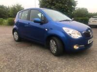 Vauxhall/Opel Agila 1.0, blue, cheap tax, low mileage, petrol,