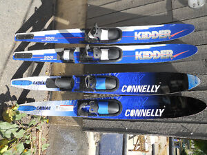 Pair of  Connelly Cayman Waterskis