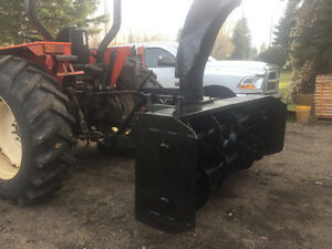 7 foot 2 stage snowblower 3 point hitch