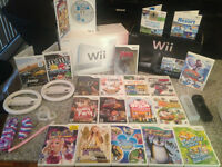 WOW NINTENDO WII COLLECTION WOW