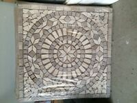 "24"" Mosaic Tiles West End Pick up, On Sale from 150$ each"