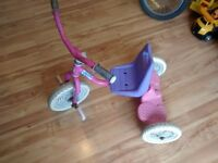 small tricycle pink