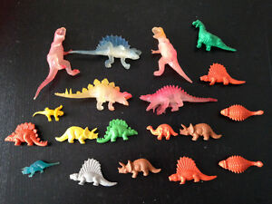 DINOSAURS--ASSORTED-- RUBBER