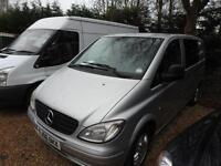 MERCEDES VITO 111 CDI COMPACT 5 seat DUALINER SWB, Silver, Manual, Diesel, 2006