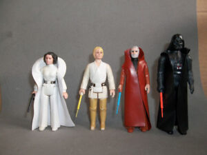 Vintage Star Wars Figures - loose, complete, most mint