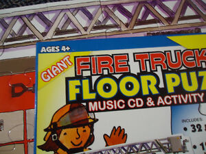 LARGE***FIRE TRUCK****FLOOR Puzzle Kingston Kingston Area image 5