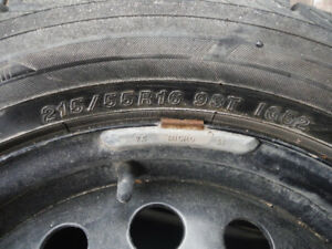 255/55R16 Winter tires, off of Ford Focus