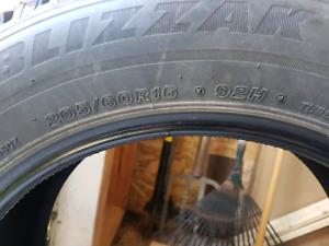 Winter Tires Bridgestone BLIZZAK WS80 205/60R16 - 92H