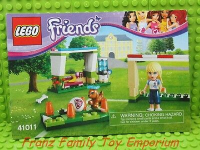 New Lego 41011 Friends Instruction Manual Only Soccer Practice Sport