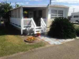 Trailer in Magic Valley RV Park, Weslaco TX