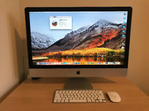 2013 iMac 27 i5-3.2GHz 16GB RAM 1TB HD 1GB Graphics -MINT
