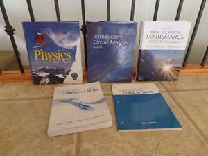 Text Books for Electrical Engineering Tech - SaskPolytech